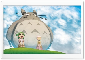 Totoro I HD Wide Wallpaper for 4K UHD Widescreen desktop & smartphone