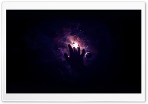 Touch The Universe HD Wide Wallpaper for Widescreen