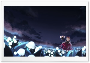 Touhou Anime I HD Wide Wallpaper for Widescreen