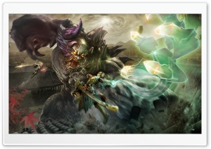 Toukiden 2 game, Monster Ultra HD Wallpaper for 4K UHD Widescreen desktop, tablet & smartphone