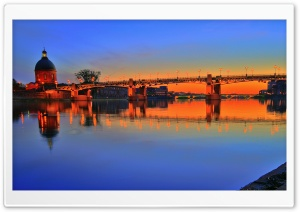 Toulouse Sunset HD Wide Wallpaper for Widescreen
