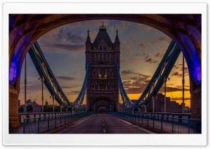 Tower Bridge, London Ultra HD Wallpaper for 4K UHD Widescreen desktop, tablet & smartphone