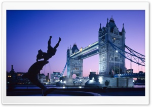 Tower Bridge, London, UK HD Wide Wallpaper for Widescreen