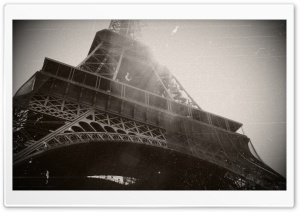 Tower Eiffel, Paris. HD Wide Wallpaper for Widescreen