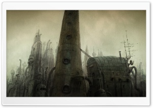Tower, Machinarium Game HD Wide Wallpaper for Widescreen