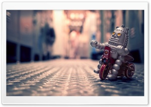 Toy Robot HD Wide Wallpaper for Widescreen