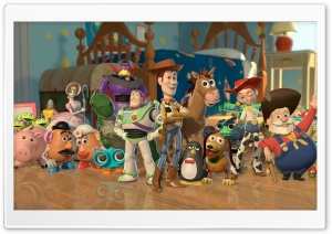 Toy Story 2 Characters HD Wide Wallpaper for Widescreen