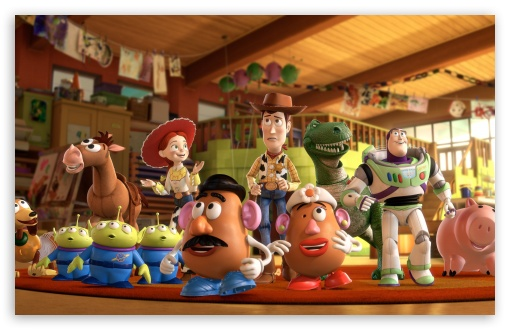 Toy Story 3 HD wallpaper for Wide 16:10 5:3 Widescreen WHXGA WQXGA WUXGA WXGA WGA ; HD 16:9 High Definition WQHD QWXGA 1080p 900p 720p QHD nHD ; Mobile 5:3 16:9 - WGA WQHD QWXGA 1080p 900p 720p QHD nHD ;
