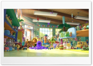 Toy Story 3   New Toys HD Wide Wallpaper for Widescreen