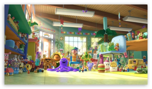 Toy Story 3   New Toys HD wallpaper for HD 16:9 High Definition WQHD QWXGA 1080p 900p 720p QHD nHD ; Mobile 16:9 - WQHD QWXGA 1080p 900p 720p QHD nHD ;
