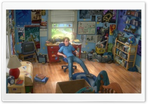 Toy Story 3 Andi HD Wide Wallpaper for 4K UHD Widescreen desktop & smartphone