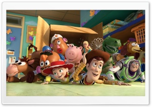 Toy Story 3 Box Toy HD Wide Wallpaper for Widescreen