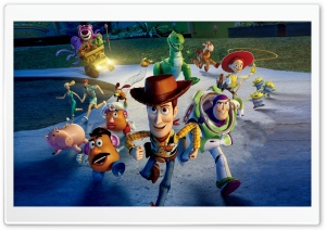 Toy Story 3 Great Escape HD Wide Wallpaper for 4K UHD Widescreen desktop & smartphone