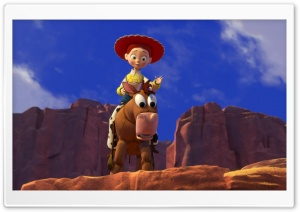 Toy Story 3 Jessie HD Wide Wallpaper for Widescreen