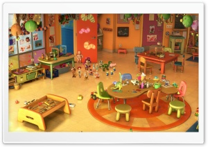 Toy Story 3 Kindergarten HD Wide Wallpaper for Widescreen
