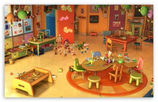 Modular Classroom Defined ~ Toy story kindergarten k hd desktop wallpaper for
