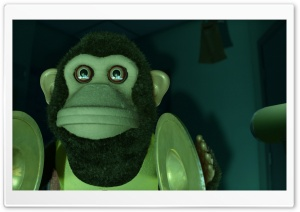Toy Story 3 Monkey Scary HD Wide Wallpaper for Widescreen