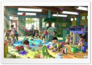 Toy Story 3 Playtime HD Wide Wallpaper for Widescreen