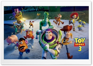 Toy Story 3 The Great Escape HD Wide Wallpaper for 4K UHD Widescreen desktop & smartphone