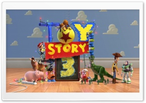 Toy Story 3 HD Wide Wallpaper for Widescreen