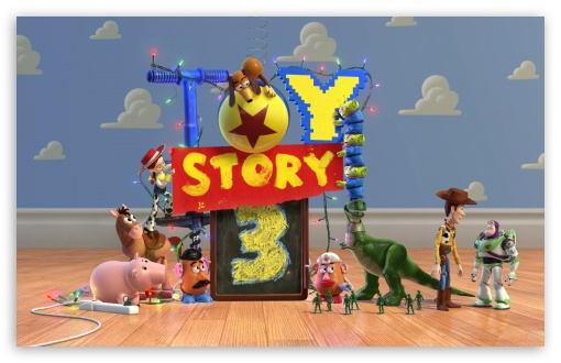 Toy Story 3 HD wallpaper for Wide 16:10 5:3 Widescreen WHXGA WQXGA WUXGA WXGA WGA ; HD 16:9 High Definition WQHD QWXGA 1080p 900p 720p QHD nHD ; Standard 3:2 Fullscreen DVGA HVGA HQVGA devices ( Apple PowerBook G4 iPhone 4 3G 3GS iPod Touch ) ; Mobile 5:3 3:2 16:9 - WGA DVGA HVGA HQVGA devices ( Apple PowerBook G4 iPhone 4 3G 3GS iPod Touch ) WQHD QWXGA 1080p 900p 720p QHD nHD ;
