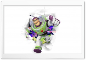Toy Story, Buzz Lightyear HD Wide Wallpaper for Widescreen