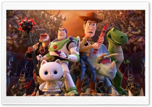 Toy Story That Time Forgot HD Wide Wallpaper for 4K UHD Widescreen desktop & smartphone