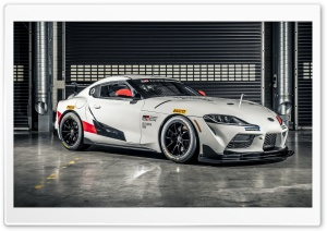 Toyota GR Supra GT4 car 2019 Ultra HD Wallpaper for 4K UHD Widescreen desktop, tablet & smartphone