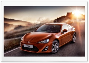 Toyota GT 86 2012 HD Wide Wallpaper for Widescreen