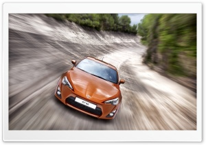 Toyota GT 86 Car HD Wide Wallpaper for Widescreen