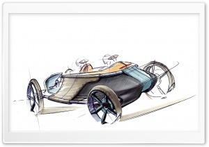 Toyota LRV Concept 2006 Sketch 2 HD Wide Wallpaper for Widescreen