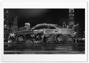 Toyota Mark2 JZX90 JDM Samurai Aerography Car 2015 design by Tony Kokhan HD Wide Wallpaper for Widescreen