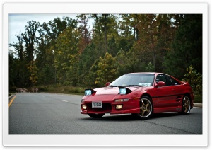 Toyota MR2 HD Wide Wallpaper for Widescreen