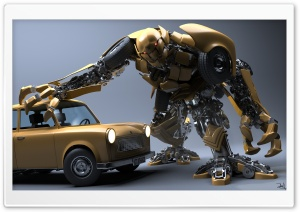 Trabant Transformer HD Wide Wallpaper for Widescreen