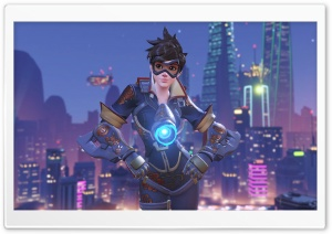 Tracer Year of the Rooster HD Wide Wallpaper for Widescreen