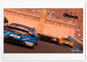 TrackMania 2 Canyon HD Wide Wallpaper for Widescreen