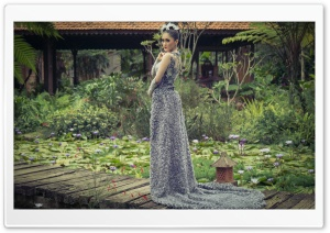 Traditional Indonesian Wedding Dress HD Wide Wallpaper for Widescreen