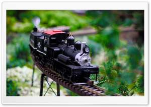 Train At Phipps HD Wide Wallpaper for Widescreen