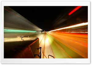 Train High Speed HD Wide Wallpaper for Widescreen