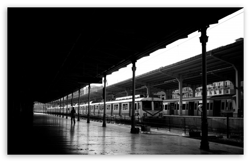 Train Station Black And White HD wallpaper for Wide 16:10 5:3 Widescreen WHXGA WQXGA WUXGA WXGA WGA ; HD 16:9 High Definition WQHD QWXGA 1080p 900p 720p QHD nHD ; UHD 16:9 WQHD QWXGA 1080p 900p 720p QHD nHD ; Standard 4:3 5:4 3:2 Fullscreen UXGA XGA SVGA QSXGA SXGA DVGA HVGA HQVGA devices ( Apple PowerBook G4 iPhone 4 3G 3GS iPod Touch ) ; Tablet 1:1 ; iPad 1/2/Mini ; Mobile 4:3 5:3 3:2 16:9 5:4 - UXGA XGA SVGA WGA DVGA HVGA HQVGA devices ( Apple PowerBook G4 iPhone 4 3G 3GS iPod Touch ) WQHD QWXGA 1080p 900p 720p QHD nHD QSXGA SXGA ;