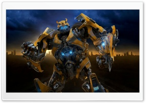 Transformers 2 Bumblebee HD Wide Wallpaper for Widescreen