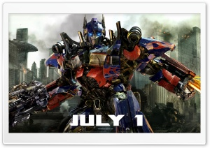 Transformers: Dark of the Moon - Optimus Prime HD Wide Wallpaper for Widescreen