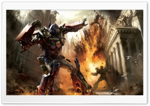Transformers Artwork HD Wide Wallpaper for Widescreen