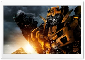 Transformers Bumblebee HD Wide Wallpaper for Widescreen