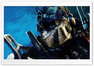 Transformers Optimus Prime Artwork HD Wide Wallpaper for Widescreen
