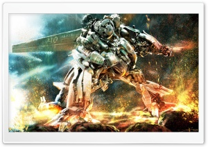 Transformers Robot War HD Wide Wallpaper for Widescreen