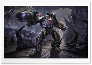 Transformers The Game, Megatron HD Wide Wallpaper for Widescreen