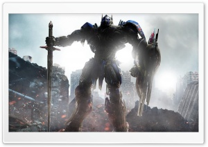 Transformers The Last Knight, Optimus Prime, 2017 movie HD Wide Wallpaper for 4K UHD Widescreen desktop & smartphone