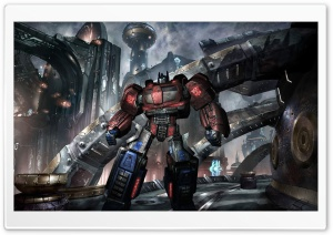 Transformers War For Cybertron HD Wide Wallpaper for Widescreen