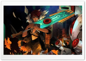 Transistor Game 2014 HD Wide Wallpaper for 4K UHD Widescreen desktop & smartphone